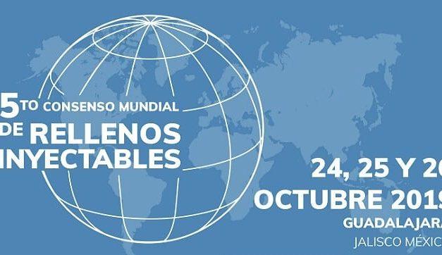 No México, Dr. Roberto Chacur faz palestra no 5° Consenso Mundial de Rellenos Inyectables