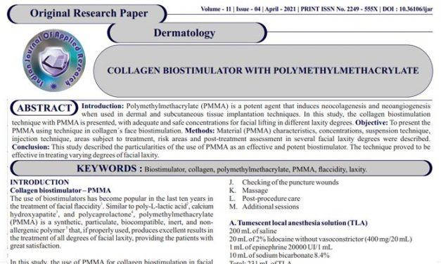 Bioestimulação de colágeno com PMMA – Técnica BioSculpt